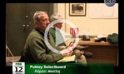 Putney Selectboard Mtg. 2/12/14
