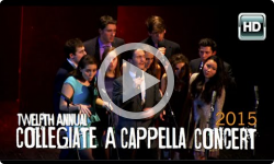 12th Annual A Cappella Concert 2/7/15