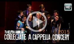12th Annual A Cappella Concert 2/7/15