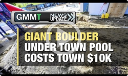 GMMT:Giant Boulder Under Pool to Cost Town $10k 9/26/16 (News Clip)