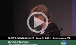 Slow Living Summit 2011: Christine Bushway, OTA CE