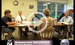 Dummerston SB Mtg. 9/4/13