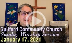 Guilford Church Service - 1/17/21
