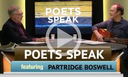 Poets Speak: Partridge Boswell