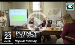 Putney Selectboard 3/23/15