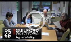 Guilford Selectboard Mtg 5/22/17