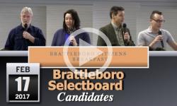 Brattleboro Citizens Breakfast: Selectboard Candidates 2/17/17