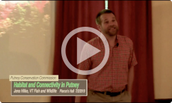 Putney Conservation Commission: Wildlife Talk - Habitat and Connectivity in Putney