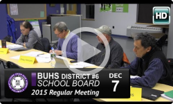 BUHS School Board Mtg 12/7/15