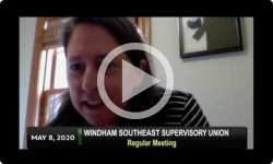Windham Southeast Supervisory Union: WSESU Bd Mtg 5/8/20