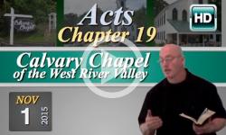 Calvary Chapel: November 1, 2015