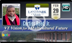 Landmark College presents Curtiss Reed, Jr. - 2/29/16