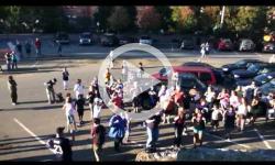 Brattleboro Flash Mob Chicken Dance Sep 25 2010