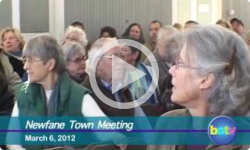 Newfane Town Meeting 3/06/12