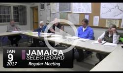 Jamaica Selectboard Mtg 1/9/17