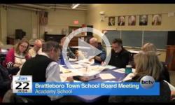 Brattleboro Town School Bd. Mtg. 1/22/14