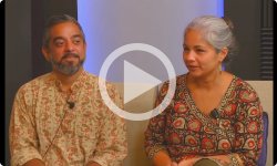 Ep #110 with Arun Ramamurthy and Trina Basu, Indian violinists and composers