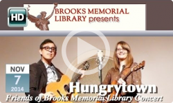 Brooks Memorial Library presents: Hungrytown, Folk Concert 11/7/14
