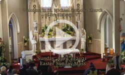 Mass from Sunday, April 4, 2021