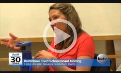 Brattleboro Town School Bd. Mtg. 4/30/14