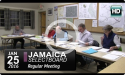 Jamaica Selectboard Mtg 1/25/16