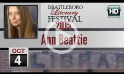 Brattleboro Literary Festival 2015: Ann Beattie