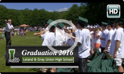 2016 Leland and Gray Graduation