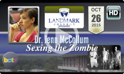 Landmark College presents: Dr. Jenn McCollum, 'Sexing the Zombie' 10/26/15