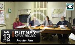 Putney Selectboard 1/13/16