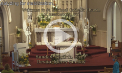 Mass from Sunday, April 11, 2021
