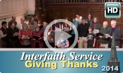 First Baptist Church: Interfaith Service - Giving Thanks