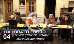 Brattleboro Town School Bd Mtg 2/4/19