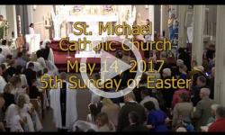 Mass from Sunday, May 14, 2017