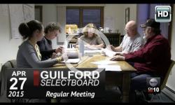 Guilford Selectboard Mtg 4/27/15