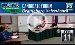 WKVT Candidate Forum: Brattleboro Selectboard 2/11/16