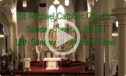 Mass from Sunday, June 17, 2018