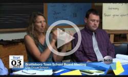 Brattleboro Town School Bd Mtg 9/3/14