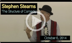 Structure of Comedy: Stephen Stearns 10/6/14