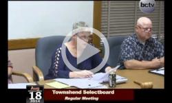 Townshend Selectboard Mtg 8/18/14