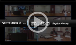 Brattleboro Planning Commission: Brattleboro PC Mtg 9/8/21