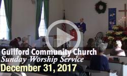 Guilford Church Service - 12/31/17
