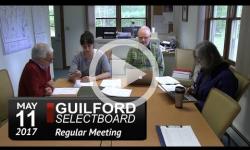 Guilford Selectboard Mtg 5/11/17