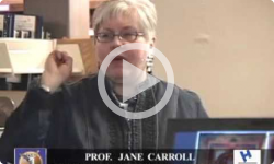 1st Weds. Prof. Jane Carroll 3/7/12