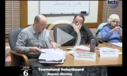 Townshend Selectboard Mtg. 1/6/14