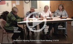 Brattleboro Housing Partnership Mtg 1/14/19