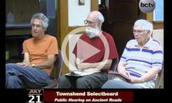 Townshend Selectboard Mtg 7/21/14