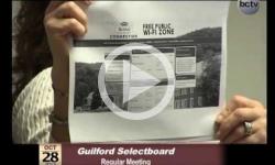 Guilford Selectboard Mtg. 10/28/13