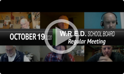 West River Education District School Board: WRED SchBd Mtg 10/19/20