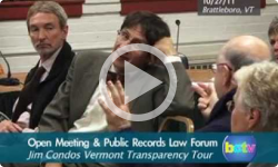 Open Meeting & Public Records Law Forum: 10/27/11