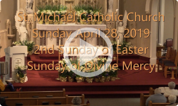Mass from Sunday, April 28, 2019